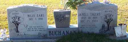 TAGERT BUCHANAN, JANELL - Marion County, Mississippi | JANELL TAGERT BUCHANAN - Mississippi Gravestone Photos