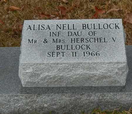 BULLOCK, ALISA NELL - Marion County, Mississippi | ALISA NELL BULLOCK - Mississippi Gravestone Photos