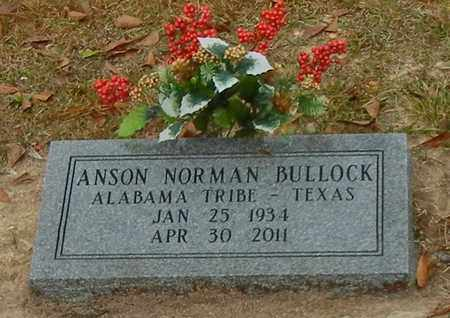 BULLOCK, ANSON NORMAN - Marion County, Mississippi   ANSON NORMAN BULLOCK - Mississippi Gravestone Photos