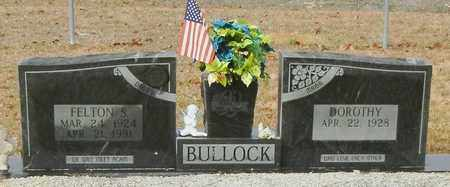 BULLOCK, FELTON S - Marion County, Mississippi | FELTON S BULLOCK - Mississippi Gravestone Photos