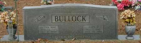 BULLOCK, BYRHA MAE - Marion County, Mississippi | BYRHA MAE BULLOCK - Mississippi Gravestone Photos