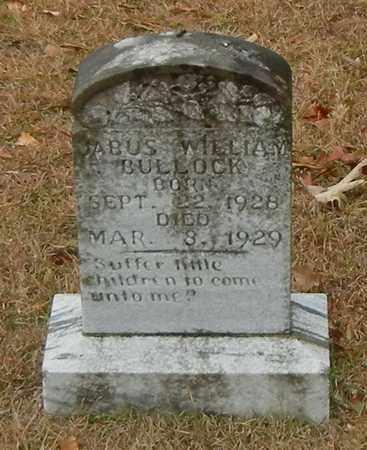 BULLOCK, JABUS WILLIAM - Marion County, Mississippi | JABUS WILLIAM BULLOCK - Mississippi Gravestone Photos