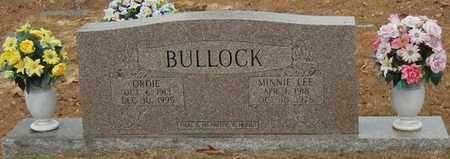 BULLOCK, ANNIE LEE - Marion County, Mississippi | ANNIE LEE BULLOCK - Mississippi Gravestone Photos