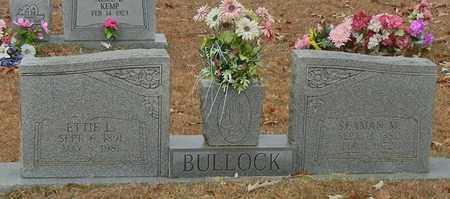 BULLOCK, ETTTIE O - Marion County, Mississippi | ETTTIE O BULLOCK - Mississippi Gravestone Photos