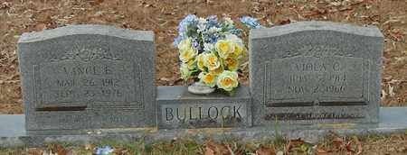 BULLOCK, VANCE E - Marion County, Mississippi | VANCE E BULLOCK - Mississippi Gravestone Photos