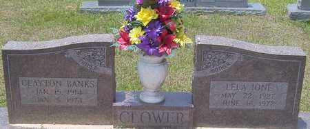 CLOWER, LELA IONE - Marion County, Mississippi | LELA IONE CLOWER - Mississippi Gravestone Photos