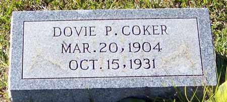 COKER, DOVIE P - Marion County, Mississippi | DOVIE P COKER - Mississippi Gravestone Photos