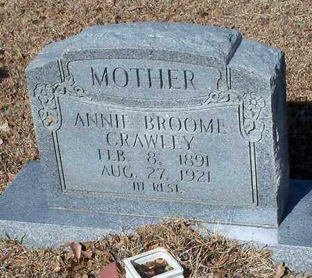 CRAWLEY, ANNIE - Marion County, Mississippi | ANNIE CRAWLEY - Mississippi Gravestone Photos