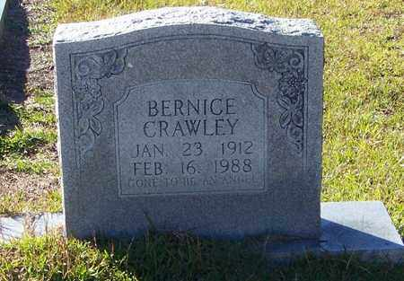 CRAWLEY, BERNICE - Marion County, Mississippi | BERNICE CRAWLEY - Mississippi Gravestone Photos