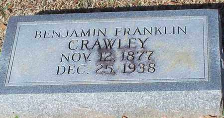 CRAWLEY, BENJAMIN FRANKLIN - Marion County, Mississippi | BENJAMIN FRANKLIN CRAWLEY - Mississippi Gravestone Photos