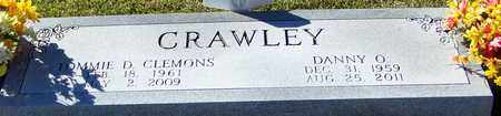 CRAWLEY, DANNY O - Marion County, Mississippi | DANNY O CRAWLEY - Mississippi Gravestone Photos