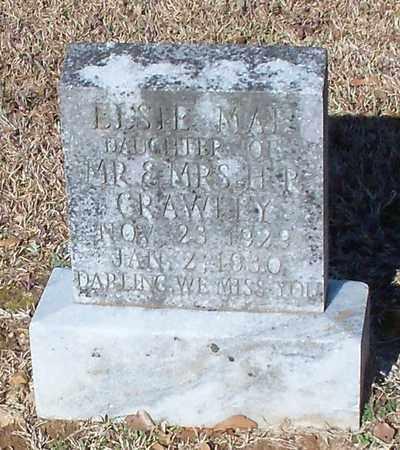 CRAWLEY, ELSIE MAE - Marion County, Mississippi | ELSIE MAE CRAWLEY - Mississippi Gravestone Photos