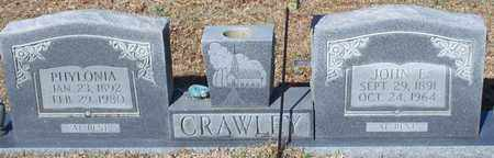 CRAWLEY, PHYLONIA - Marion County, Mississippi | PHYLONIA CRAWLEY - Mississippi Gravestone Photos