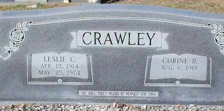 CRAWLEY, LESLIE C - Marion County, Mississippi | LESLIE C CRAWLEY - Mississippi Gravestone Photos