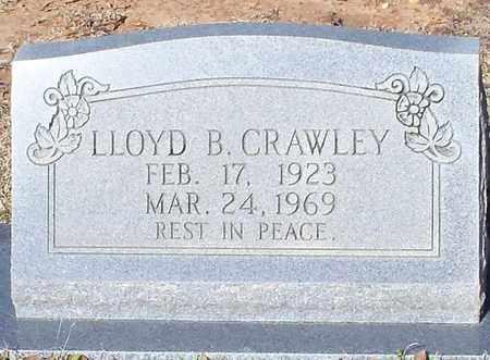 CRAWLEY, LLOYD B - Marion County, Mississippi   LLOYD B CRAWLEY - Mississippi Gravestone Photos