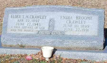CRAWLEY, ENDIA - Marion County, Mississippi | ENDIA CRAWLEY - Mississippi Gravestone Photos