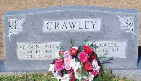 CRAWLEY, VERNON ODELL - Marion County, Mississippi | VERNON ODELL CRAWLEY - Mississippi Gravestone Photos