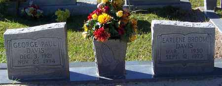 DAVIS, EARLENE - Marion County, Mississippi | EARLENE DAVIS - Mississippi Gravestone Photos