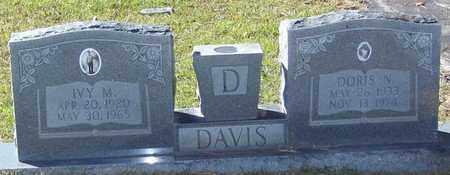 DAVIS, IVY M - Marion County, Mississippi | IVY M DAVIS - Mississippi Gravestone Photos