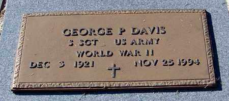 DAVIS (VETERAN WWII), GEORGE PAUL - Marion County, Mississippi | GEORGE PAUL DAVIS (VETERAN WWII) - Mississippi Gravestone Photos
