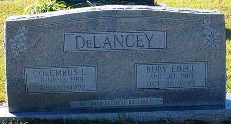 DELANCEY, RUBY EDELL - Marion County, Mississippi | RUBY EDELL DELANCEY - Mississippi Gravestone Photos