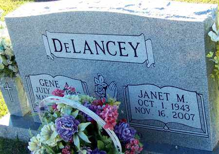 DELANCEY, JANET M - Marion County, Mississippi   JANET M DELANCEY - Mississippi Gravestone Photos