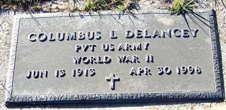 DELANCEY (VETERAN WWII), COLUMBUS L - Marion County, Mississippi | COLUMBUS L DELANCEY (VETERAN WWII) - Mississippi Gravestone Photos