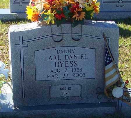 "DYESS, EARL DANIEL ""DANNY"" - Marion County, Mississippi | EARL DANIEL ""DANNY"" DYESS - Mississippi Gravestone Photos"