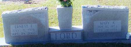 FORD, MARY K - Marion County, Mississippi | MARY K FORD - Mississippi Gravestone Photos