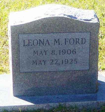 FORD, LEOMA M - Marion County, Mississippi | LEOMA M FORD - Mississippi Gravestone Photos