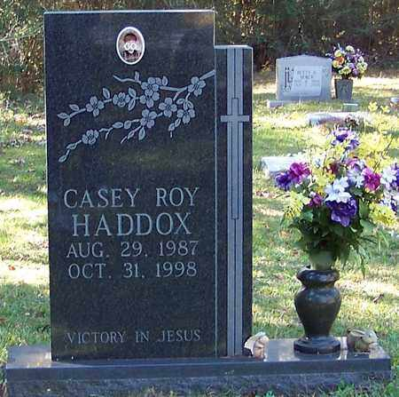 HADDOX, CASEY ROY - Marion County, Mississippi | CASEY ROY HADDOX - Mississippi Gravestone Photos