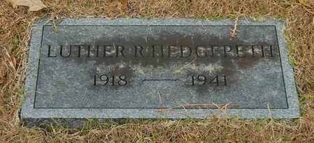 HEDGEPETH, LUTHER R - Marion County, Mississippi | LUTHER R HEDGEPETH - Mississippi Gravestone Photos