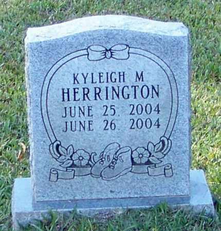 HERRINGTON, KYLEIGH M - Marion County, Mississippi | KYLEIGH M HERRINGTON - Mississippi Gravestone Photos