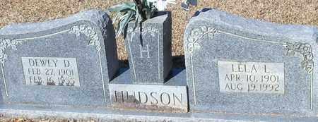HUDSON, DEWEY D - Marion County, Mississippi | DEWEY D HUDSON - Mississippi Gravestone Photos