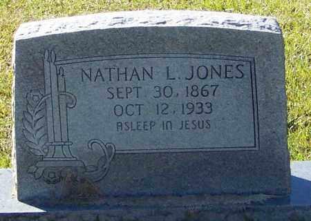 JONES, NATHAN L - Marion County, Mississippi | NATHAN L JONES - Mississippi Gravestone Photos