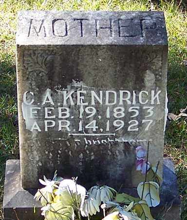 KENDRICK, C A - Marion County, Mississippi | C A KENDRICK - Mississippi Gravestone Photos