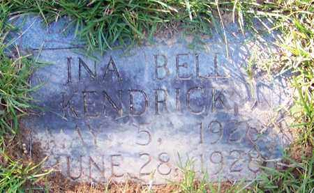 KENDRICK, INA BELL - Marion County, Mississippi | INA BELL KENDRICK - Mississippi Gravestone Photos