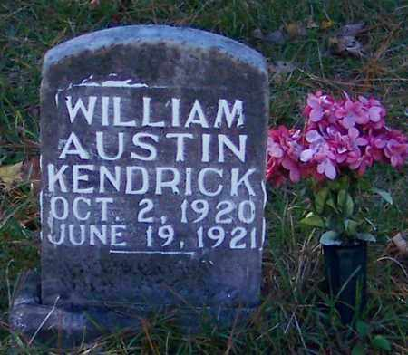 KENDRICK, WILLIAM AUSTIN - Marion County, Mississippi | WILLIAM AUSTIN KENDRICK - Mississippi Gravestone Photos