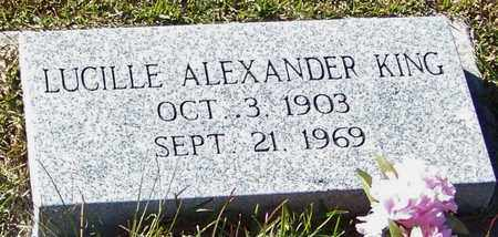 ALEXANDER KING, LUCILLE - Marion County, Mississippi | LUCILLE ALEXANDER KING - Mississippi Gravestone Photos