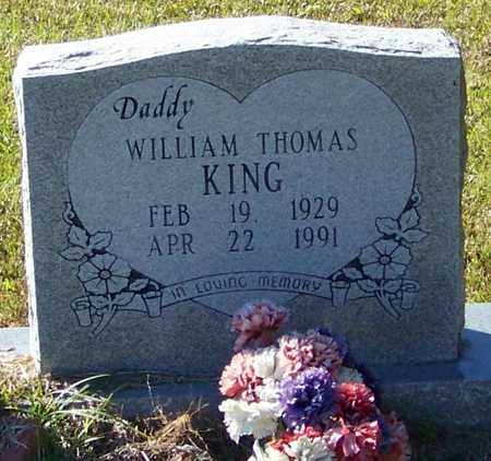 KING, WILLIAM THOMAS - Marion County, Mississippi | WILLIAM THOMAS KING - Mississippi Gravestone Photos
