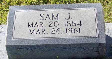 KNIGHT (CLOSE UP), SAM J - Marion County, Mississippi | SAM J KNIGHT (CLOSE UP) - Mississippi Gravestone Photos