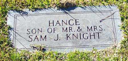KNIGHT, HANCE - Marion County, Mississippi | HANCE KNIGHT - Mississippi Gravestone Photos