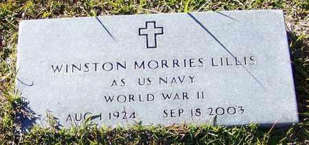 LILLIS (VETERAN WWII), WINSTON MORRIS - Marion County, Mississippi | WINSTON MORRIS LILLIS (VETERAN WWII) - Mississippi Gravestone Photos