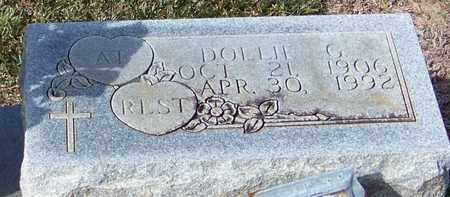 LOWERY (CLOSE UP), DOLLIE G - Marion County, Mississippi | DOLLIE G LOWERY (CLOSE UP) - Mississippi Gravestone Photos
