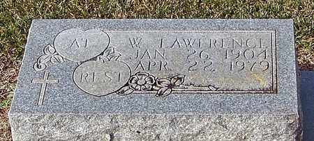 LOWERY (CLOSE UP), W LAWRENCE - Marion County, Mississippi | W LAWRENCE LOWERY (CLOSE UP) - Mississippi Gravestone Photos