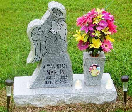 MARTIN, ALYSSA GRACE - Marion County, Mississippi   ALYSSA GRACE MARTIN - Mississippi Gravestone Photos