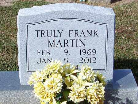 MARTIN, TRULY FRANK - Marion County, Mississippi | TRULY FRANK MARTIN - Mississippi Gravestone Photos