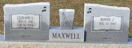 MAXWELL, LEONARD L - Marion County, Mississippi | LEONARD L MAXWELL - Mississippi Gravestone Photos