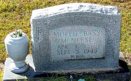 BASS MCNEESE, MOLLIE - Marion County, Mississippi | MOLLIE BASS MCNEESE - Mississippi Gravestone Photos