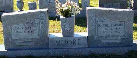 MOORE, BONNIE J - Marion County, Mississippi | BONNIE J MOORE - Mississippi Gravestone Photos